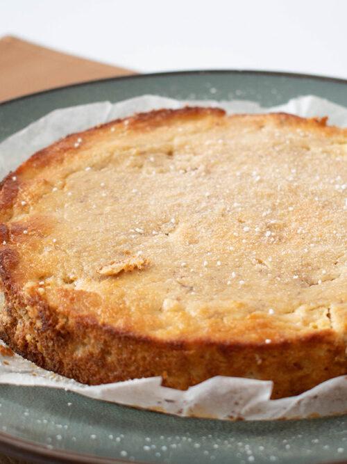 Frisse ananascake airfryer