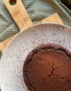 zwarte bonen brownies uit de Airfryer