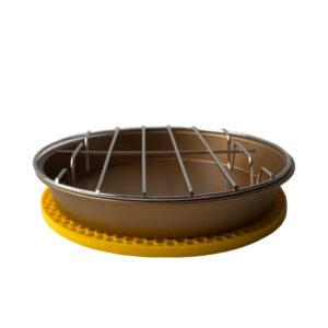 3 Delige airfryerset goud (18cm)