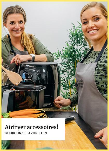 Nieuwe Airfryer producten in de webshop